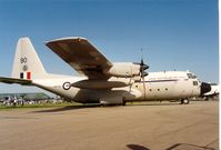 A97-190 @ EGDM - Another view of the Royal Australian Air Force Hercules at the 1992 Air Tattoo Intnl at Boscombe Down. - by Peter Nicholson