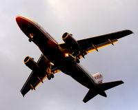D-ABGD @ EDDT - Illuminated plane above me (II). - by Holger Zengler