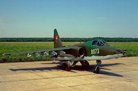 8073 @ LZMC - Su-25K at Malacky Kuchyna Slovakia - by FBE