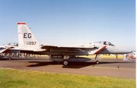 85-0097 @ EGDM - F-15C Eagle, callsign Photon 44, of 60th Fighter Squadron/33rd Fighter Wing at the 1992 Air Tattoo Intnl at Boscombe Down. - by Peter Nicholson