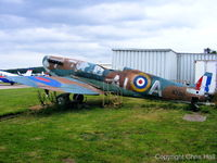 N3310 @ EGBW - Replica Spitfire IX at the Wellesbourne Wartime Museum - by Chris Hall