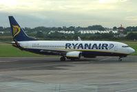 EI-DPI @ EIDW - Ryanair B737 in the evening at Dublin