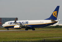 EI-EBG @ EGGP - Ryanair Boeing 737-8AS/WL - by Chris Hall
