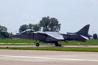 165587 @ DVN - Quad Cities Air Show, taxiing in after the display