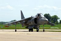 165587 @ DVN - Quad Cities Air Show, taxiing in after the display - by Glenn E. Chatfield