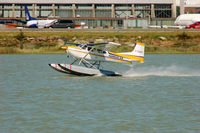 C-GZSH @ YVR - take-off from Fraser River - by metricbolt