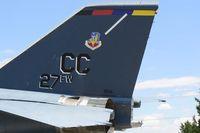 68-0140 - USAF F-111D on display in Clovis, NM