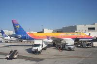 6Y-JMK @ KMIA - Air Jamaica A320-214, 6Y-JMK on the ramp at gate F11 KMIA - by Mark Kalfas