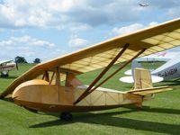 BGA3166 @ EGWN - Slingsby Falcon replica - by Simon Palmer