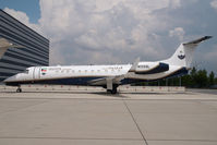 N135SL @ VIE - United Aviation Embraer 135 - by Dietmar Schreiber - VAP