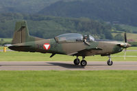 3H-FP @ LOXZ - Pilatus PC-7 - Austria Air Force - by Juergen Postl
