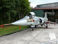 D-8312 @ EHVK - Lockheed F-104G Starfighter D-8312 Royal Netherlands Air Force preserved at Volkel Airbase - by Alex Smit