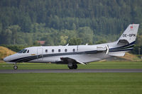 OE-GPN @ LOXZ - Palfinger Cessna 560XL Citation Excel