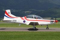 058 @ LOXZ - Pilatus PC-9M - Croatia Air Force - by Juergen Postl
