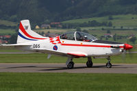 065 @ LOXZ - Pilatus PC-9M - Croatia Air Force - by Juergen Postl