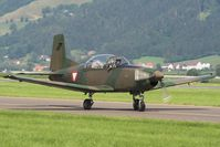 3H-FP @ LOXZ - AIRPOWER 09Austrian Air Forces   	Pilatus PC-7 Turbo Trainer - by Delta Kilo