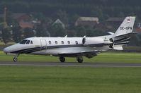 OE-GPN @ LOXZ - AIRPOWER 09  ABC Bedarfsflug  Cessna 560XL Citation Excel - by Delta Kilo