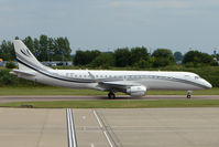 A6-ARK @ EGGW - An Embraer 190 Business Jet at Luton - by Terry Fletcher