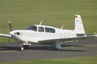 D-EJSP @ EDKB - Mooney M.20M Model 257 TLS at Bonn-Hangelar airfield - by Ingo Warnecke