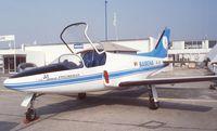 OO-JET @ LFPB - Promavia F.1300 Jet Squalus (probably never flown) at the Aerosalon 1989 Paris