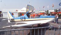 F-WZCG @ LFPB - Mudry CAP X (second prototype) at the Aerosalon 1989 Paris