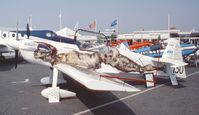 F-WZCJ @ LFPB - Mudry CAP 230 at the Aerosalon 1989 Paris