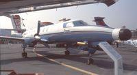 F-GMTO @ LFPB - Fairchild / Swearingen SA-225-AT meteorological aircraft at the Aerosalon 1989 Paris