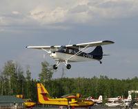 C-FOVA @ CYZH - Slave Lake Airport - by William Heather