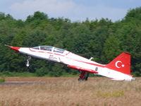 71-4017 @ EHVK - Northrop NF-5B-2000 Freedom Fighter 71-4017/17 Turkish Air Force Turkish Stars - by Alex Smit