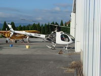 CS-XHF @ LPBR - Rotorway helicopter  at Braga - by ze_mikex