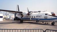 F-WYAO @ LFPB - Fokker F.27 Friendship meteorological research aircraft at the Aerosalon 1989 Paris