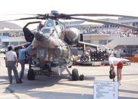 032 @ LFPB - Mil Mi-28A HAVOC (3rd prototype) at the Aerosalon 1989 Paris - by Ingo Warnecke