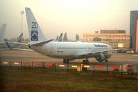 D-ABBO @ LHBP - Ferihegy Terminal 1 LHBP - Ex TC-SNJ - by Attila Groszvald-Groszi