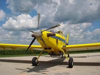 N802HA @ PNT - 802 Air Tractor belonging to Pontiac Flying Service - by Kris Petersen