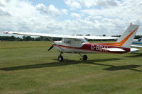 G-BDAI @ EGTH - G-BDAI Cessna Aerobat at Shuttleworth Military Pagent air Display July 09