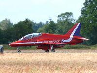 XX294 @ EHVK - British Aerospace Hawk T1 XX294 Royal Air Force Red Arrows - by Alex Smit