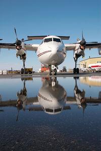 C-FWZV @ CYZF - Air Tindi Dash 7 - by Dietmar Schreiber - VAP