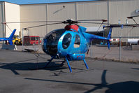 C-GMTB @ CYZF - Great Slave Helicopter Hughes 369
