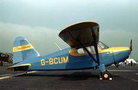 G-BCUM @ BQH - This Stinson attended the 1978 Biggin Hill Air Fair. - by Peter Nicholson