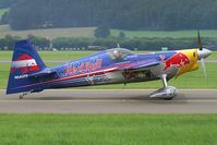 N540PB @ LOXZ - Red Bull (The Flying Bulls) Extra 300