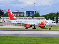 G-LSAC @ EGCC - Jet2 - by Chris Hall
