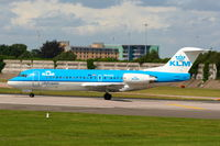 PH-KZG @ EGCC - KLM Cityhopper - by Chris Hall