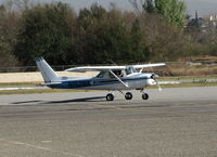 N152WA @ AJO - TEMCO International 1979 Cessna 152 taxiing for takeoff @ Corona Airport, CA - by Steve Nation