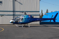 C-FHAF @ CYZF - Great Slave Helicopters AS350
