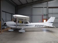 N104PF @ EGBG - Cessna 172 hangared at Leicester - by Simon Palmer