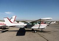 N6525R @ AJO - 1980 Cessna 172RG @ photographer friendly Corona Municipal airport, CA - by Steve Nation