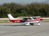 N11825 @ AJO - 1975 Cessna 177B Cardinal final engine check before T/O @ photographer friendly Corona Municipal airport, CA - by Steve Nation