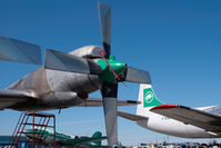 C-GLBA @ CYZF - Buffalo Airways Lockheed Electra - by Dietmar Schreiber - VAP