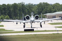 81-0994 @ TVC - From The 110th Fighter Wing, Battle Creek ANGB, Taxi To USCG Hangar - by Mel II
