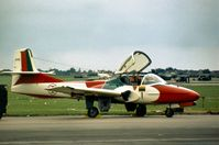 2415 @ MHZ - Cessna T-37C, built as 62-5940, of the Asas de Portugal aerial display team at the 1978 Mildenhall Air Fete. - by Peter Nicholson